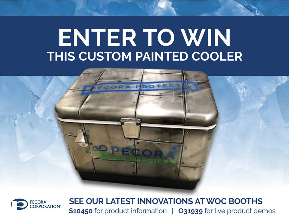 Win a Pecora Cooler at World of Concrete!